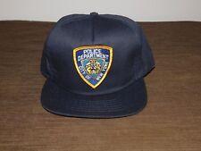 POLICE BASEBALL CAP HAT POLICE DEPARTMENT CITY OF NEW YORK NEW UNUSED
