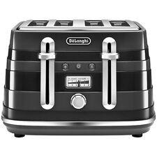 DeLonghi Cta4003.bk Avvolta 4 Slice Toaster 1800w 2 Year Black