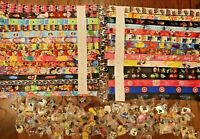 Disney World Pin Trading Lot Lanyard Princess Buzz Tink Mickey Cars Lot of 10