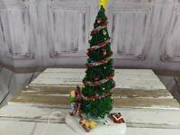 Vintage Dept. 56 Snow Village Main Street Christmas Tree AS IS 55205 Decor