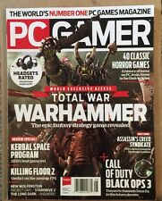 PC Gamer Total War Warhammer Kerbal Space Program August 2015 FREE SHIPPING!