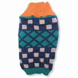Knitted Dog Sweater Warm Winter Clothes Puppy Cat Coat Pullover Small Large Pet