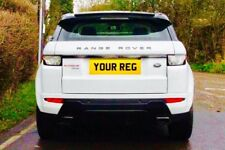 LAND ROVER EVOQUE NUMBER PLATES QUALITY ROAD LEGAL PLATES