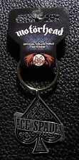MOTORHEAD - OFFICIAL KEYCHAIN ACE OF SPADES METAL KEY RING