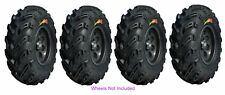 (2) 24X8-11 & (2) 24-10-11 GBC Dirt Devil Tires For 89-04 Kawasaki KLF300C Bayou