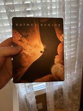 Batman Begins Steelbook Blu-ray - Christian Bale