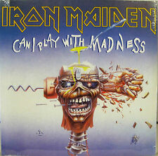 "IRON MAIDEN ""CAN I PLAY WITH MADNESS"" 7' reissue sealed"