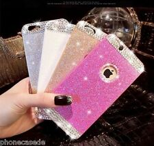 Strass Bling Glitzer Hart Handy Hülle Glanz Etui Diamant Case iPhone Samsung 8