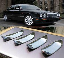 DELUXE x4 CHROME Door Handle Recess Covers JAGUAR XJ 95-03 Vanden Plas Daimler