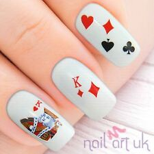 Deck Of Cards  Water Decal Nail Art Stickers, Decals, Tattoos