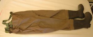Lacrosse Duralite Chest Waders Mens Size 7 Used Hunting Fishing