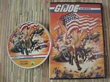 DVD ANIMACIÓN G.I.JOE LA PELICULA A REAL AMERICAN HERO USADA BUEN ESTADO