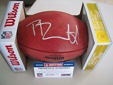 Phillip Dorsett Autographed NFL Football   PSA