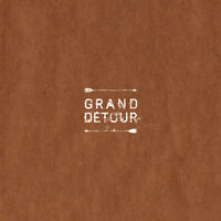 "Grand Détour - s/t 12"" EP Etched Single Sided ltd WHITE vinyl - NEU & ungespielt"