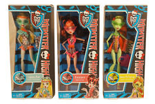 Monster High Swim 3 DOLL FIGURE SET: Draculaura, Lagoona Blue, & Venus McFlytrap
