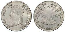 BOLIVIA 4 SOLES PTS FJ 1858 (KM#132.2) ARGENTO/SILVER #1139