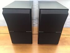 A Pair Of Bang & Olufsen B&O Beovox CX50 Black Speakers