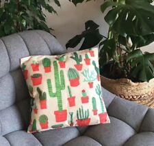 Cactus Print Cushion Cover Throw Pillow Case Square Home Decor
