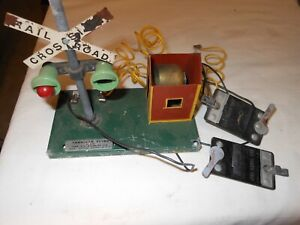 American Flyer #759 Bell Danger Signal with original box wire parts