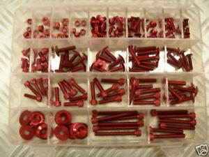 Juego de Tornillos ergal 150Pcs M5 M6 Color Rojo ! Fantástico