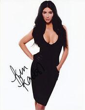 "1920 Kim Kardashian Autographed 8x10"" Photo"