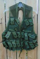 U.S. Military 24 pocket grenade vest 1985 Nos Sz. M,Ammo/Air Soft vest,free ship