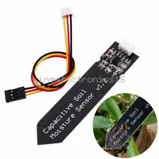 Analog Capacitive Soil Moisture Sensor V1.2 Corrosion Resistant With Cable Wire