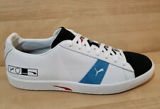 Puma Clyde Hacked Archive Men's Size 12 -  372784-02 White Black Blue Leather