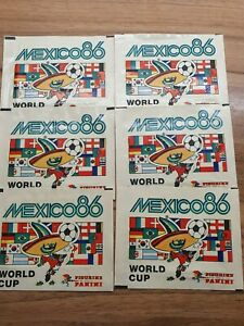 Panini Mexico 86 6 x unopened Packs