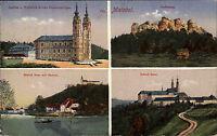 Maintal Bayern 1919 Staffelberg Schloß Banz Vierzehnheiligen Stempel Lichtenfels