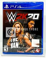 WWE 2K20 - PS4 - Brand New | Factory Sealed