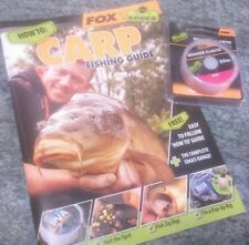 Fox Pink Marker Elastic + FREE How to Carp Fishing Guide