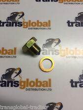 Land Rover Defender Discovery 1 300tdi Oil Sump Plug & Washer - Bearmach