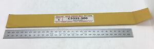 Starrett Ruler #C335S-300 Satin Chrome Flex Rule Mint Unused In Original Sleeve