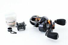 ABU Garcia Revo LTX-L Left handed Bait casting reel USED H178
