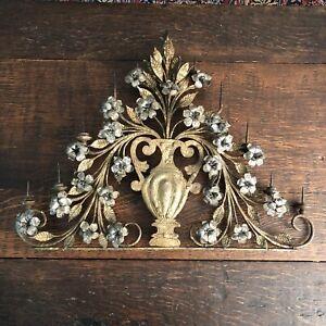 17th Century Silver & Gold Gilt Metal Italian 11 Light Candelabrum