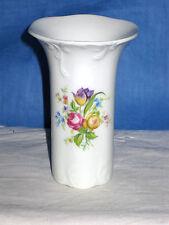 Rosenthal Vase, classic, Blumen Dekor, 10 cm, TOP