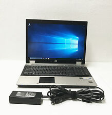 HP EliteBook 8730w Intel Core 2 Duo T9400 2.53GHz 4GB 500GB Windows 10