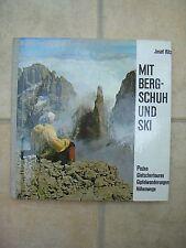 Josef Ritz, Mit Bergschuh und Ski
