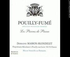 6 BT. POUILLY FUME' LES PIERRES DE PIERRE 2016 domaine MASSON-BLONDELET