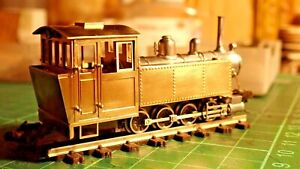 HOn30 HOe OO9 Brass & Whitemetal 0-8-0 Steam Loco Kit (fully assembled chassis!)