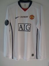 Nike 2009 Manchester United Champions League Final Player Issue Shirt Jersey