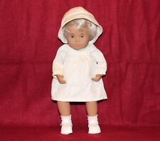 "12"" Vintage Baby Sasha With Fair Blond Hair Doll, Made In England+Box"