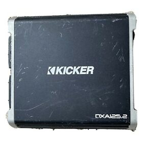 Kicker DXA125.2 Car Audio DX Series 2 Channel Amplifier 43DXA1252 Amp UNTESTED
