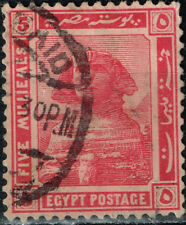 Egypt Architecture Great Sphinks in Giza stamp 1922