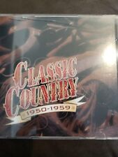 CLASSIC COUNTRY  1950-1959  Various Artists  2 CD SET  (Time/Life)  FREE SHIP