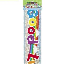 Good Luck 12ft Party Prismatic Banner Parties Banners Decorations