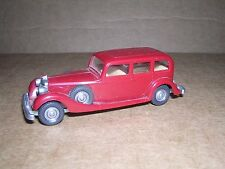 Wiking #3850 1937 Horch 850 4-Door Limo. - Maroon - Imported 1974