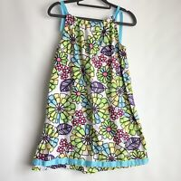 HANNA ANDERSSON~NWT GIRLS BUTTERFLY//FLORAL SPRING//SUMMER DRESS~sz 4T//5-6//6X-7