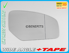 Wing Mirror Glass HONDA CIVIC 2012-2016 Wide Angle + TAPE Right Side /JH039
